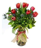 Tulips to Kiss  (Tulip Color Varies)