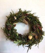 Woodland Grapevine Wreath